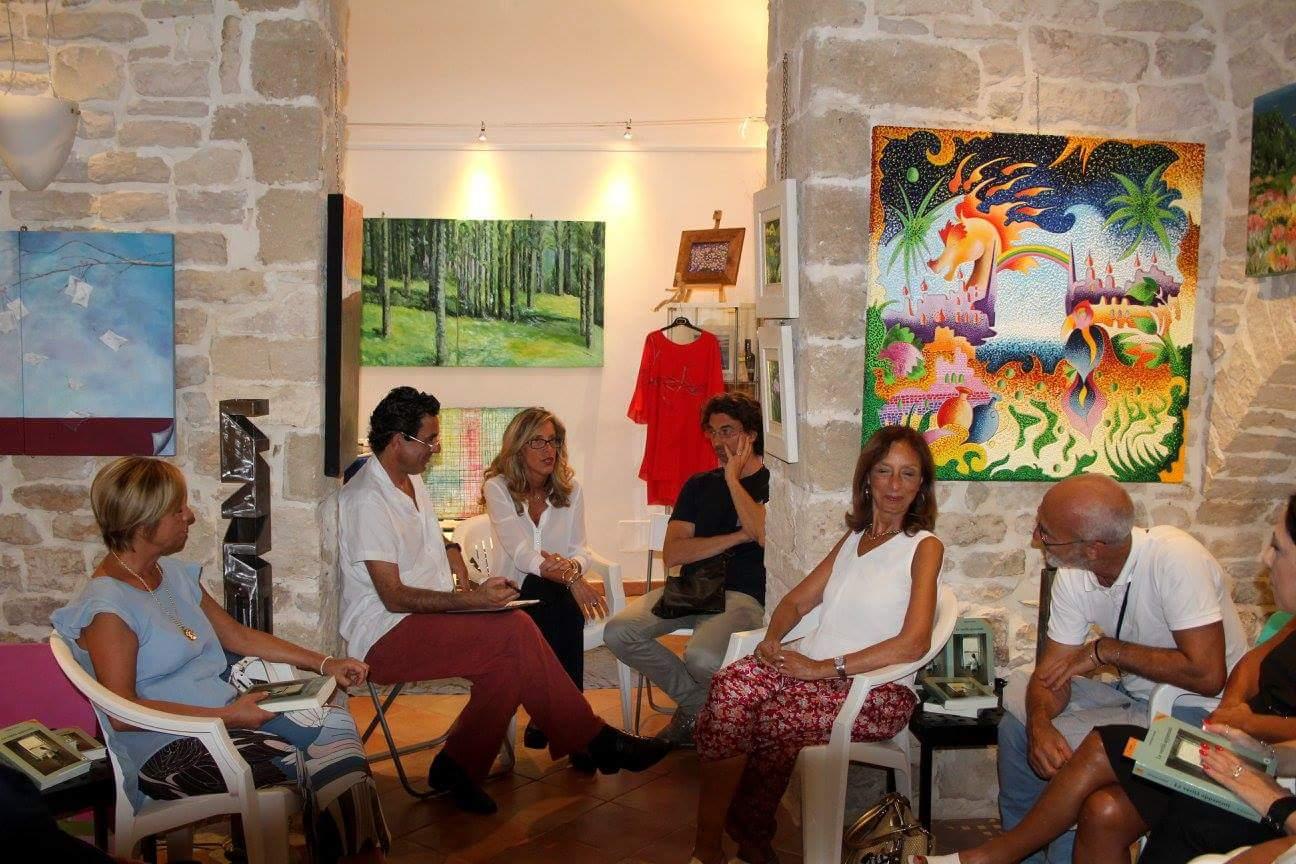 Galleria K2Studio Anforah, con Francesco Mignacca e Fedele Boffoli, Giovinazzo