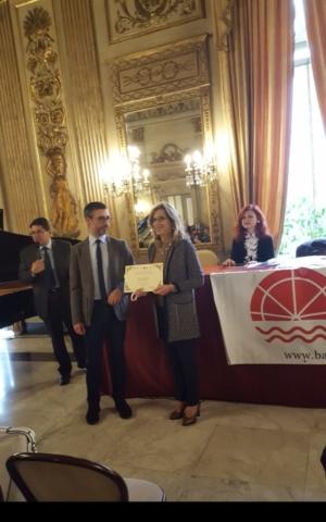 """Premio Letterario""""Bari Città Aperta"""", Sala delle Muse, Circolo Unione, Bari"""