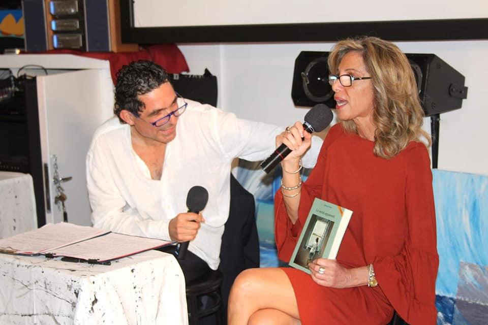 Con Fedele Boffoli presso il Puglia Club, Trieste