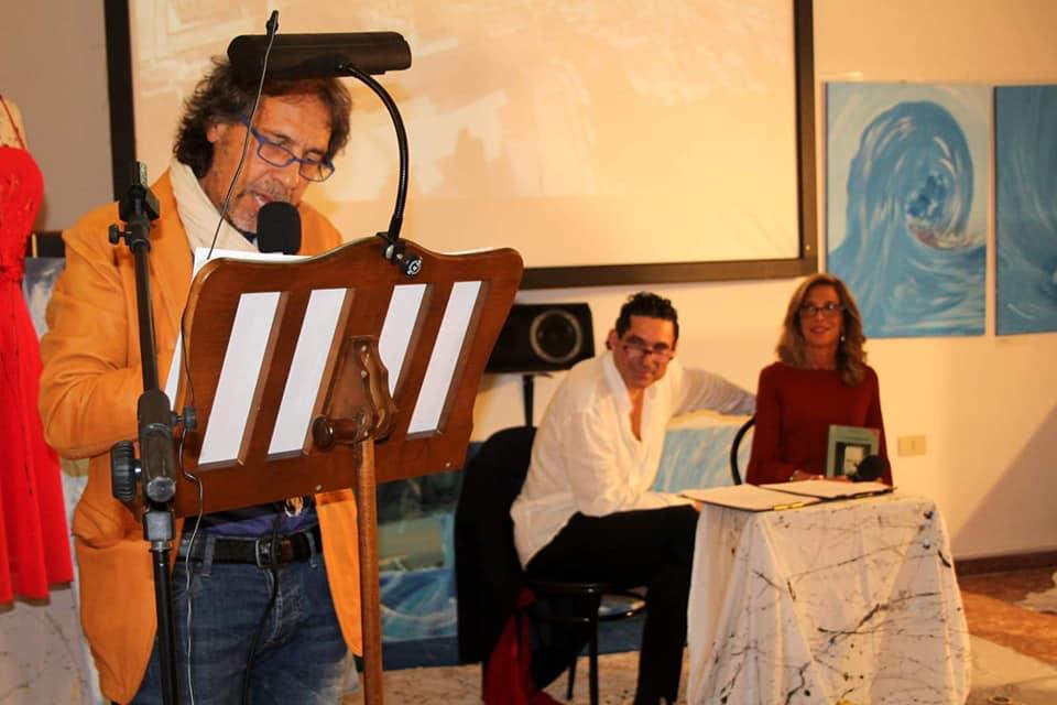 Con Fedele Boffoli e Marcello Crea presso il Puglia Club, Trieste