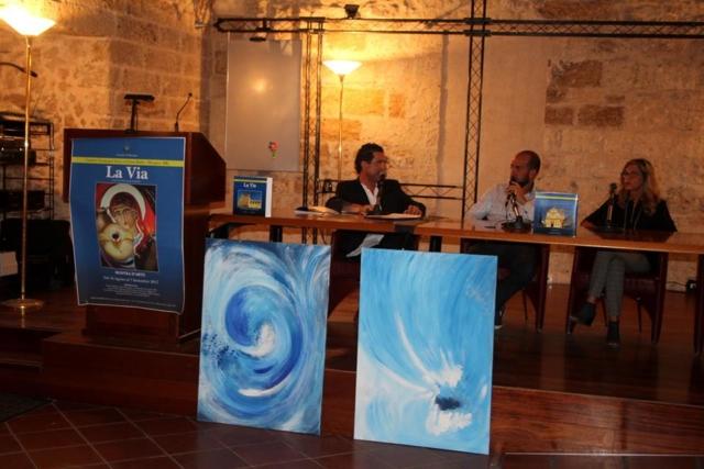 """Presentazione del Progetto """"La Via"""" al Castello di Mesagne"""