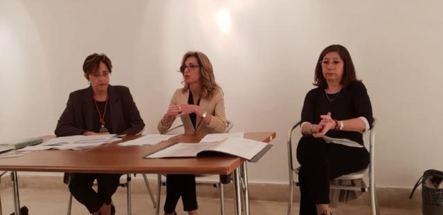 """Galleria """"Spaziogiovani"""", con Sabina Minerva e Floriana Uva, Bari"""