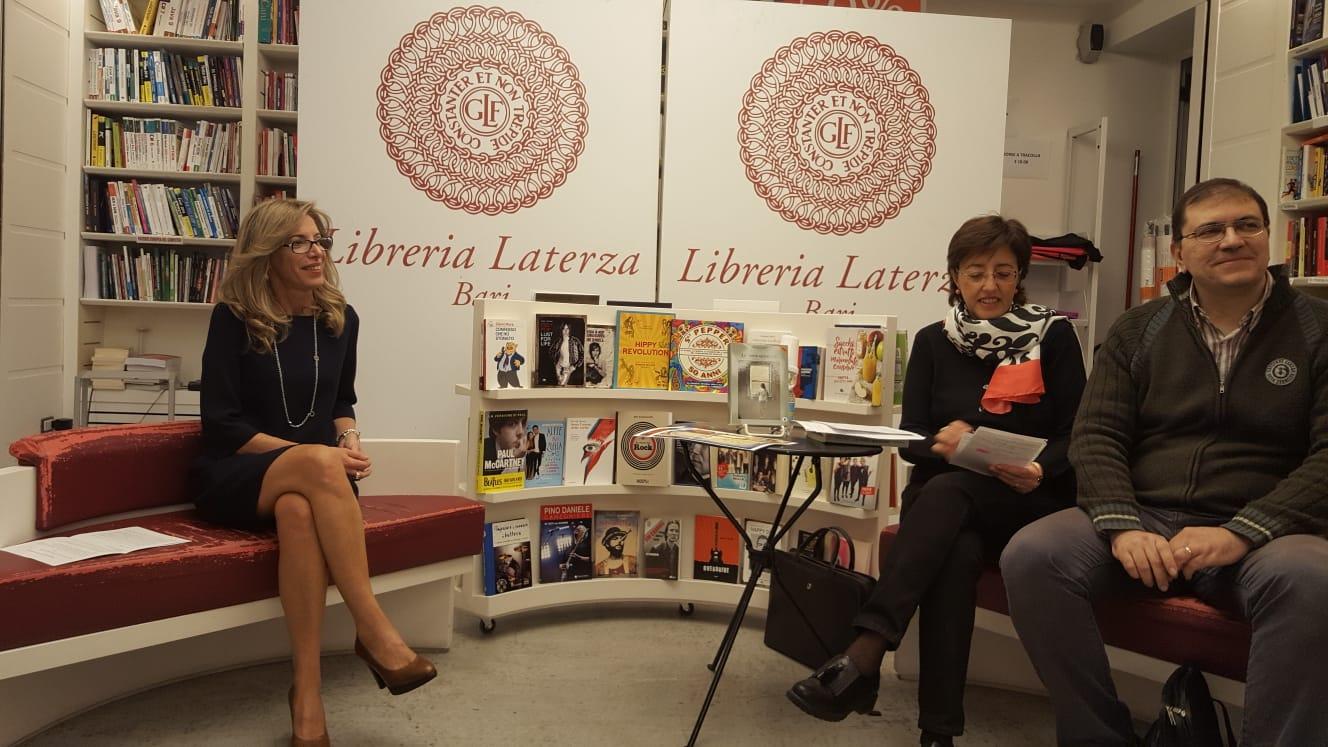 Libreria Laterza, con Sabina Minerva, Floriana Uva e Stefano Ruocco