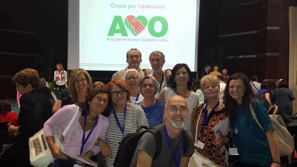 Con i volontari dell'A.V.O. di Bari, Salsomaggiore Terme