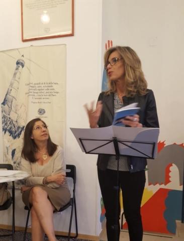 Reading  presso la libreria Quintiliano, Bari